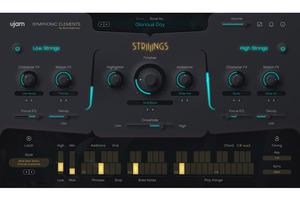 UJAM Symphonic Elements - Striiiingsが発売。ハンス・ジマーの秘蔵ライブラリーを元にしたストリングス・アンサンブル音源