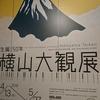 横山大観展を見に金曜夜に東京国立近代美術館に行ってみた。全長40メートル超の絵巻「生々流転」を見る。(千代田区北の丸公園)