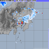 東京23区西部でゲリラ豪雨・ゲリラ雷雨、さいたまは雹も