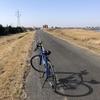 風の強い日のサイクリングはキツイ