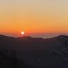 西丹沢~檜洞丸② 青ヶ岳山荘に泊まり御来光を見る 2021.2.6~2.7