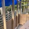 作業部屋作り 1段目の壁終了です