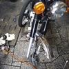 #バイク屋の日常 #ヤマハ #YB-1FOUR #フロントタイヤ #交換