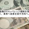 金融庁さん、FX証拠金倍率10倍引き下げを見送りへ(*´ω`*)