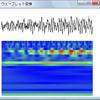 ウェーブレット変換で時間ごとの周波数解析