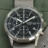 【イギリスの装備品】空軍パイロットクロノグラフ(セイコーパルサー・モデル品)とは? 0580  🇬🇧 ミリタリー