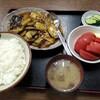 西川口の「あおき食堂」で麻婆茄子定食を食べました★