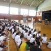 いじめ防止教室・群馬県警察音楽隊演奏会です