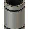 Fusion360で、リニアブッシュ8mm LM8UU(ダミー)をモデリングする。