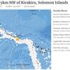 9月10日04時31分頃にソロモン諸島付近を震源とするM6.5の地震が発生!最近リング・オブ・ファイア上で大地震が発生しており、日本も他人事ではない!!