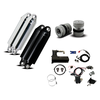 パーツ:Platinum Air Suspension「FLH, FLHT Front And Rear Air Ride Package」