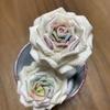つまみ細工  薔薇を作る!