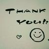 ほっこり書41 「thank you」