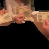 飲み会で二千円札を交換・消費しました。その2