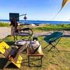 海辺のキャンプは気持ちいい@白浜フラワーパーク