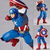 生ける伝説【キャプテン・アメリカ】 Captain America フィギュアコンプレックス アメイジング・ヤマグチ No.007【海洋堂】より発売☆