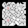 四角渡り迷路:問題23