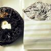 ミスタードーナツ 焼きマシュマロチョコレート チョコアーモンド,ショコラデニッシュ ホイップ