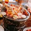 今年、初肉は蛤亭で塩ホルモン。