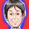 iPadで描いた 山田進太郎さんの似顔絵と似顔絵が出来上がるまで。