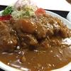 城東食堂のカツカレー(弘前市)