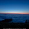 津別峠で雲海と日の出を撮影しました。