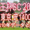 【京王杯SC 2021】過去10年データと予想