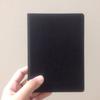 無印良品で買った黒いノート