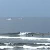 腰サイズ、形良い波でサーフィン楽しめます 波情報 湘南鵠沼08/24