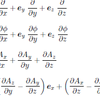 ベクトル解析の公式