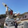 男鹿半島 1日観光 男鹿水族館 なまはげ立像 ゴジラ岩