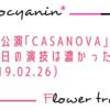 【花組】この日は一言で言うと「濃い」「CASANOVA」(2019.02.26 13時公演) 感想7【ネタバレあり】