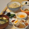 玄米ご飯リベンジとモツ煮と納豆