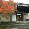 京田辺市「酬恩庵(しゅうおんあん)一休寺」小雨降る