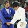 柔道女子78キロ級、梅木真美が2回戦で敗れる
