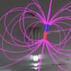 目に見えない磁力線を最新の複合現実技術(HoloLens)で可視化