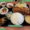 🚩外食日記(495)    宮崎ランチ   「かつれつ軒」★13より、【ダブルかつ定食】‼️