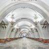美しすぎる!地下宮殿と呼ばれるロシアの地下鉄駅