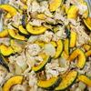 豚肉と南瓜の炒め物