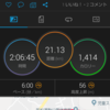 長野マラソンに向けた20㎞走