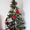 【育児】クリスマスツリーを息子と一緒に飾って、サンタさんにもお手紙を書きました