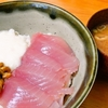 とろろご飯(びんちょう鮪)