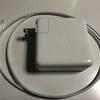 Apple製品の充電アダプタ60Wが使いやすい。