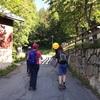 シャモニーでハイキング、二日目、エギュイーユ・デュ・ズーッシュ