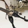 工房壱の着物カメラストラップの革部分をセミオーダー。