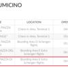 ローマ/フィウミチーノ空港 ラウンジ 訪問記 ROME FIUMICINO LOUNGE
