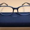 仕事用の眼鏡を買っておきました。