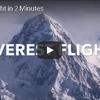飛行機から見るヒマラヤ山脈の核心部
