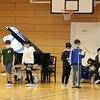 5年生:分散授業参観③ 1組 合奏&クイズ
