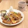林檎&キャラメルが甘々♡プレミアムフレンチトースト(Ivorish @渋谷)